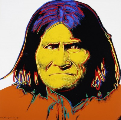 Geronimo, c.1972, Silkscreen in Colors