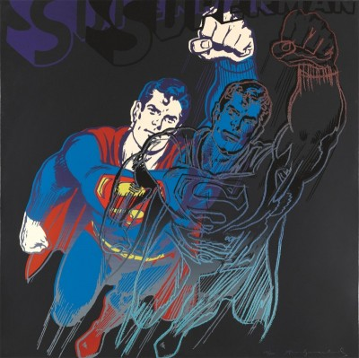 Superman, c.1981, Silkscreen in Colors