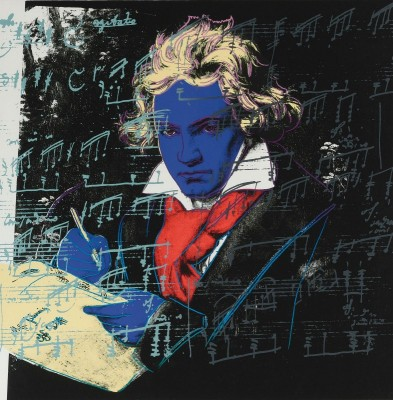 Beethoven, c.1987, Screenprint