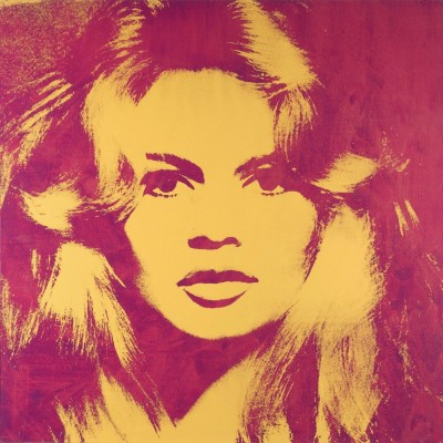 Brigitte Bardot, c.1974, Silkscreen in Colors
