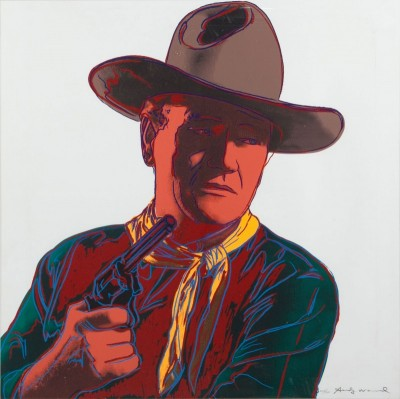 John Wayne, c.1964, Silkscreen in Colors