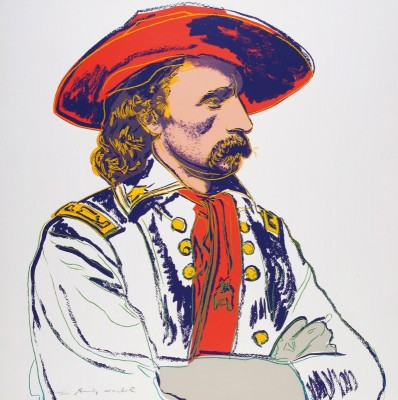 General Custer, c.1985, Silkscreen in Colors