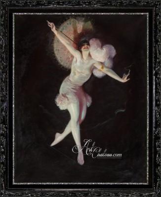 Ziegfeld Girl in Limelight, after Enoch Bolles
