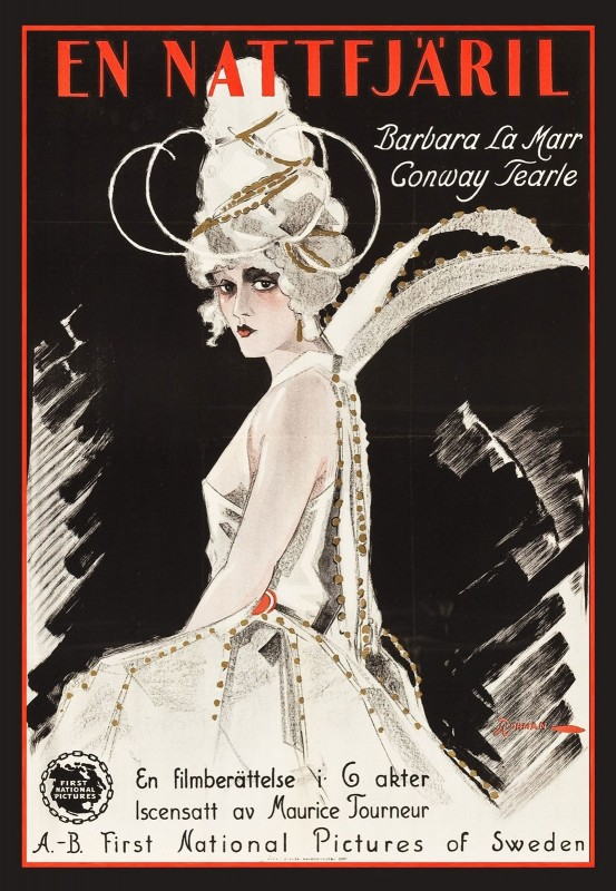 The White Moth, c.1924, Coloration on Fine Linen
