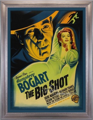 Vintage Style Movie Poster, The Big Shot