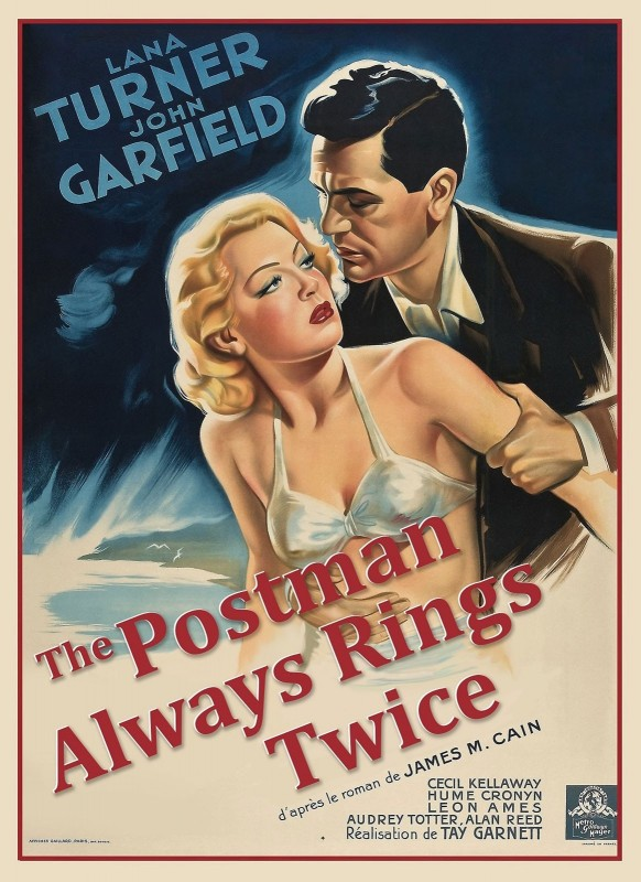 The Postman Always Rings Twice, c.1946, Coloration on Fine Linen