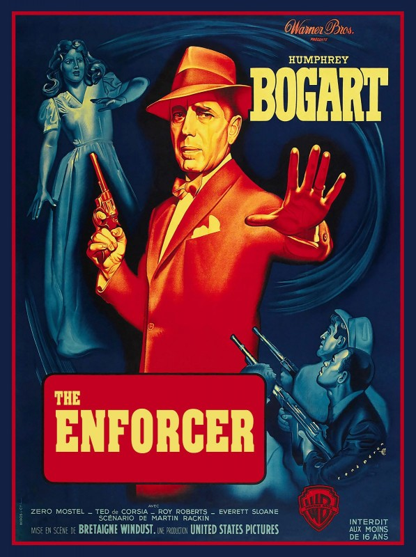 The Enforcer, c.1951, Coloration on Fine Linen