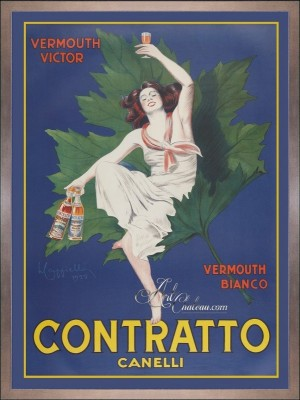 Vintage Style French Poster, after Leonetto Cappiello
