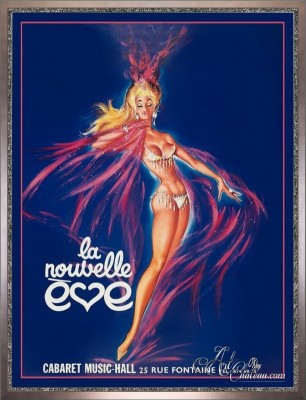 Vintage Style French Poster, after Pierre Okley