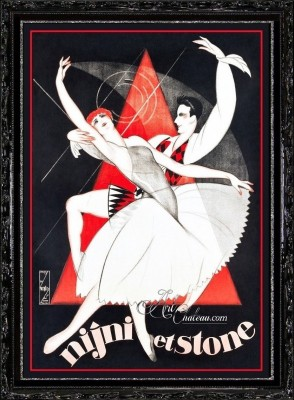 French Ballet Poster, featuring Bentley Stone