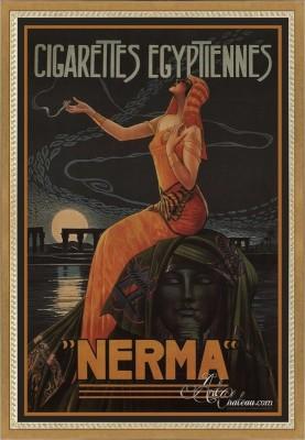 Vintage French Style Art Poster, after Gaspar Camps