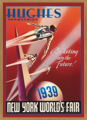 Vintage Style Art Poster, New York World's Fair