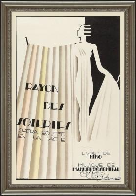 Vintage Opera Poster, after Maurice Dufrene