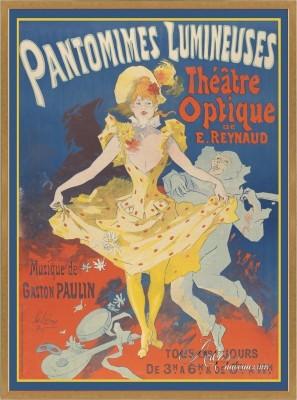 Vintage French Poster, after Jules Cheret