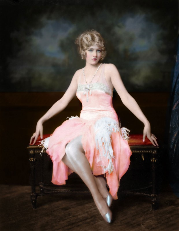 Mary Eaton of the Ziegfeld Follies, c.1920, On Kodak Photographic Paper