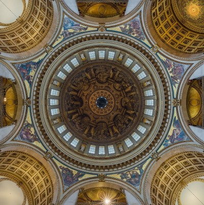 Saint Paul's Cathedral Interior Dome, London, c.2010, On Photographic Paper