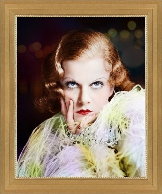 Jean Harlow, after Art Deco Photograph by George Hurrell