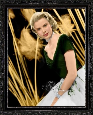 Portrait of Grace Kelly, from the Movie Rear Window