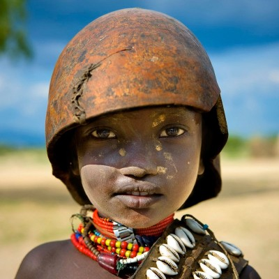 Erbore Child in the Omo Valley, Ethiopia, c.2009, On Photographic Paper
