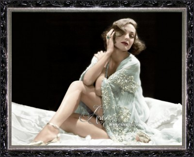 Vintage Photograph of Ziegfeld Follies Girl, Adrienne Ames