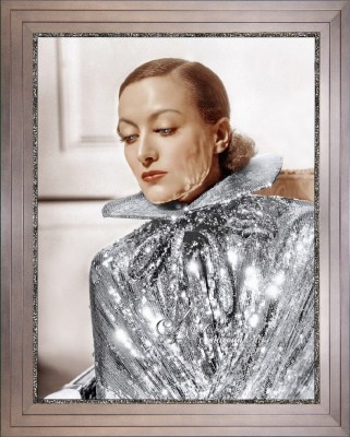Hollywood Regency Photograph of Joan Crawford