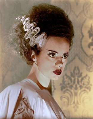 Elsa Lanchester as The Bride of Frankenstein, c.1935, Silver Gelatin Print