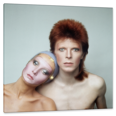 David Bowie and Twiggy Lawson, Pin Ups Album Cover, c.1973, Silver Gelatin Print