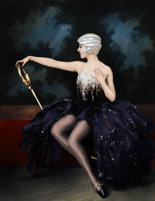 Dorothy Stone of the Ziegfeld Follies, c.1920, On Kodak Photographic Paper