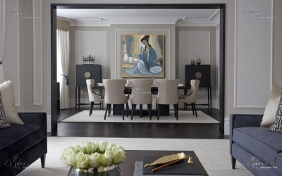 Bel Air Interior Designers, after Lin Fengmian