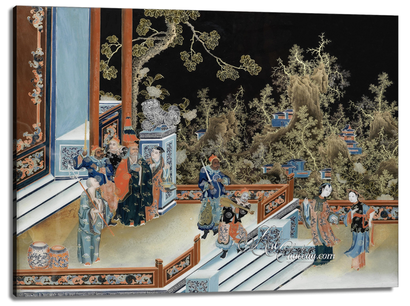 Instructress to the Concubine, after Chinese School