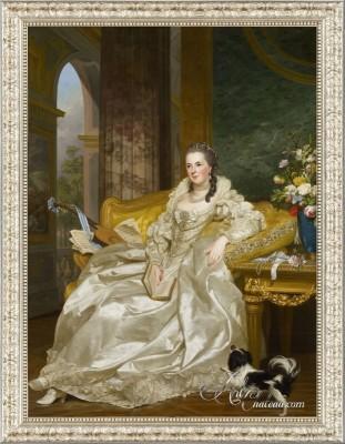 The Comtesse d'Egmont Pignatelli, after Alexander Roslin