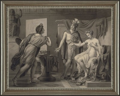 Alexander Ceding Campaspe to Apelles, after Jerome-Martin Langlois