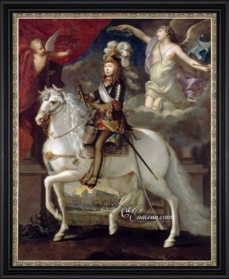 Louis XIV, Boy King of France, after Jean Nocret