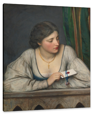 The Love Letter, c.1913, Oil on Canvas