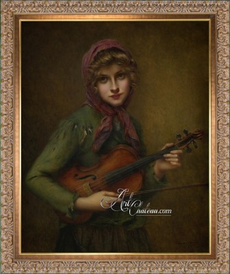 The Young Violinist, after Francois Martin-Kavel