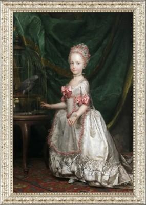 Baroque Period Painting, The Archduchess Maria Teresa of Austria