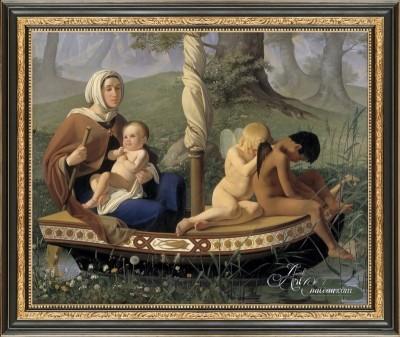 The Voyage of Life, after German artist Ditlev Blunck