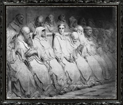 The Neophyte, after Gustave Dore