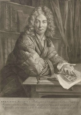 Portrait of Bernard Picart, c.1714, Engraving