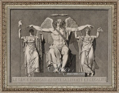 Allegorical Vision of Liberty and Equality