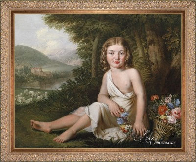 Portrait of a Young Girl, after Guermann von Bohn