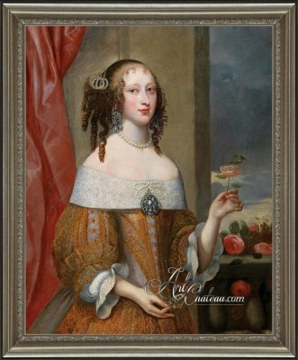 Portrait of Electress Henriette Adelheid of Bavaria