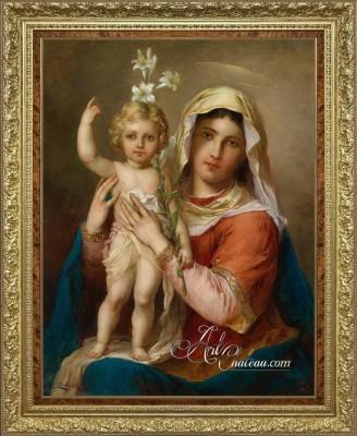 Madonna and Child, after Hans Zatzka