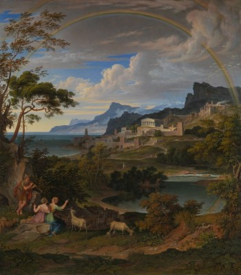 Heroic Landscape with Rainbow, c.1824, Oil on Canvas