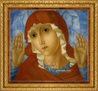 The Mother of God after Kuzma Petrov-Vodkin