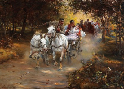 Country Wedding, c.1889, Oil on Canvas