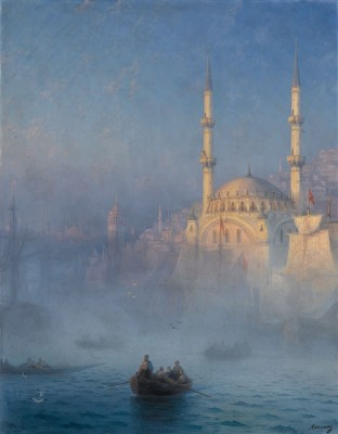Hagia Sophia, Constantinople, c.1880, Oil on Canvas