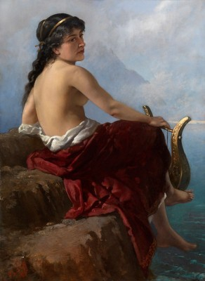 Sappho, c.1900, Oil on Canvas