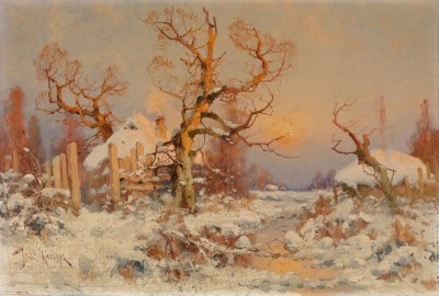 Winter, c.1890, Oil on Canvas