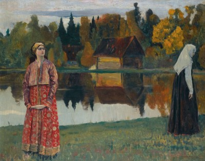 By the Lake, c.1924, Oil on Canvas